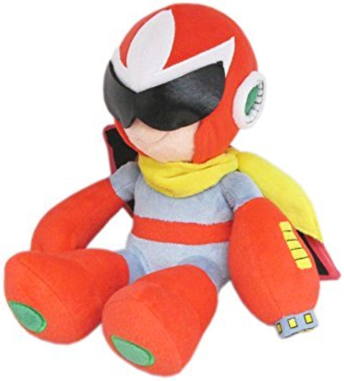 para barato Sanei Sanei Sanei Mega Man  Rockman Series All Estrella Collection - RP03 - 10 Projoo Man Stuffed Plush by Sanei  a precios asequibles