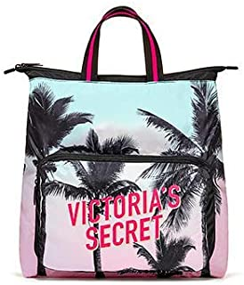 VICTORIA SECRET - SOLD OUT RARE FOLDUP PALM TREE TEASE DREAMER PACKABLE BACKPACK TOTE. SAC - SOLD OUT COMPLETELY