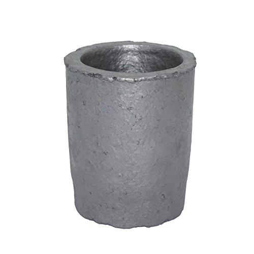 坩堝 炭化ケイ素黒鉛るつぼ 鋳造インゴット 金型 鋳型るつぼ シルバーゴールド溶融 金銀銅融解用 (2#)