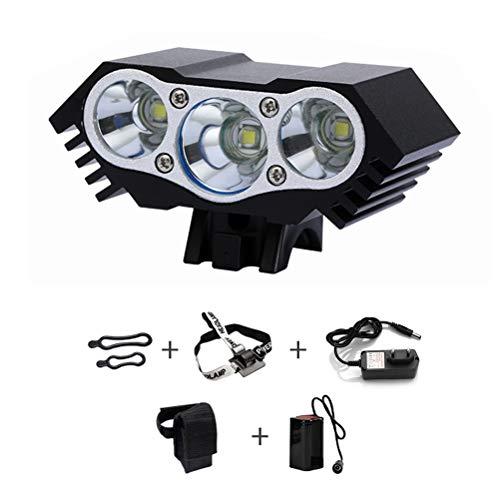 Egosy Fahrradlicht Vorne Scheinwerfer Fahrradscheinwerfer LED-Fahrradscheinwerfer LED-Scheinwerfer wasserdicht Fahrradlicht