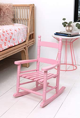Best Jack-Post KN-10P Knollwood Classic Childs Porch Rocker, Pink