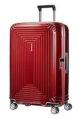 Samsonite Neopulse – Spinner M koffer, 69 cm, 74 L, rood (Metallic Red)*