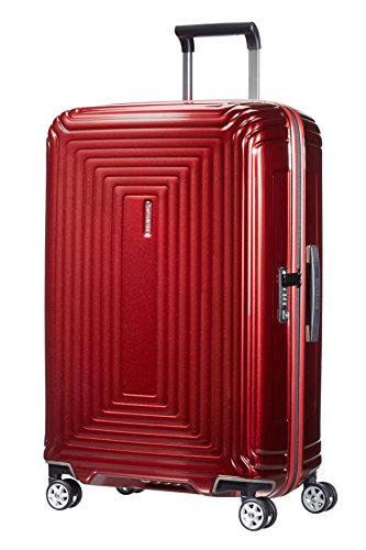 Samsonite Neopulse - Spinner M Maleta, 69 cm, 74 L, Rojo (Metallic Red)