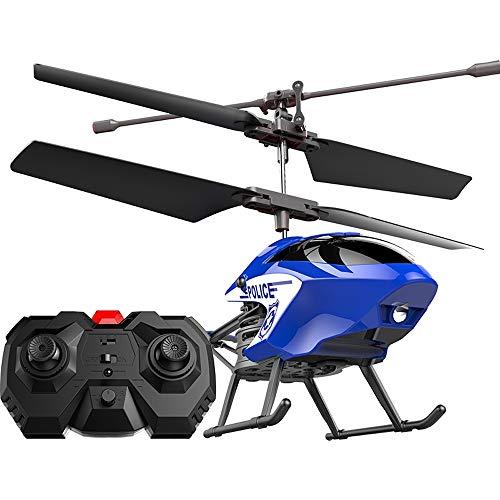 Poooc Kreative Handhänge 2.4G RC Hubschrauber Flugzeuge Infrarot-Sensing Induktion Fliegen Drone Spielzeug Mini Fliegen RC Flugzeug D15 Polizei Flugzeug Outdoor Indoor-Fliegen-Spielzeug 2.5CH Fernbedi