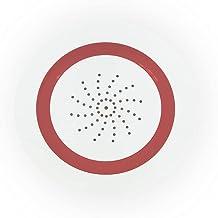 QNECT Intelligente binnensirene – werkt met WiFi, verbind deze met de Qnect Home-app, compatibel met Alexa en Google Home.