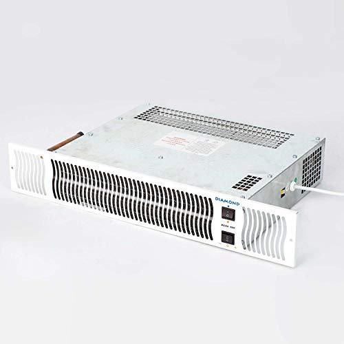 41rqp9FjQuL. SS500  - Bidex 900 Central Heating Kickspace Kitchen Plinth Heater - White Grill