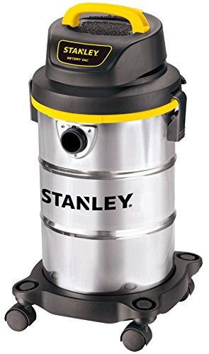 Stanley 5 Gallon 4 Peak HP Wet/Dry Vacuum, 3 in 1 Shop Vac Blower,1-1/4'x5 Hose, Range for...