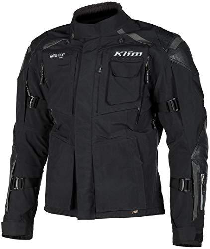 Klim Kodiak Motorrad Textiljacke Schwarz Kurz 28