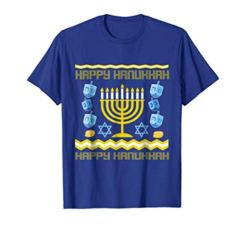 Happy Hanukkah Ugly T shirt