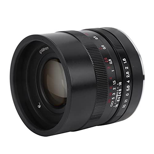 Eosnow Obiettivo ad Ampia Apertura per Attacco Z, Design dell apertura Graduata e Messa a Fuoco Manuale Pratici Accessori per Fotocamere Obiettivo della Fotocamera per riprendere Qualsiasi Scena e