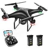 SNAPTAIN SP600 Drohne mit Kamera 720P HD, 30 Minuten Flugzeit, Live Übertragung WiFi FPV RC Quadcopter,120° Weitwinkel, Hochhaltung, 360°Flips, Flugbahnflug, Kopfloser Modus