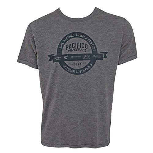 Pacifico Behält Adventures Männer T-Shirt Medium Grey