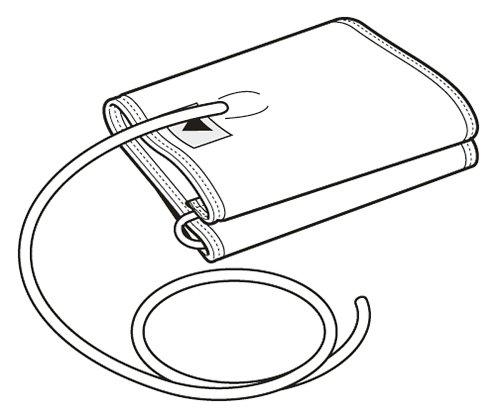 電子血圧計(上腕式)用 交換腕帯 適用腕周22~32cm /8-1482-11