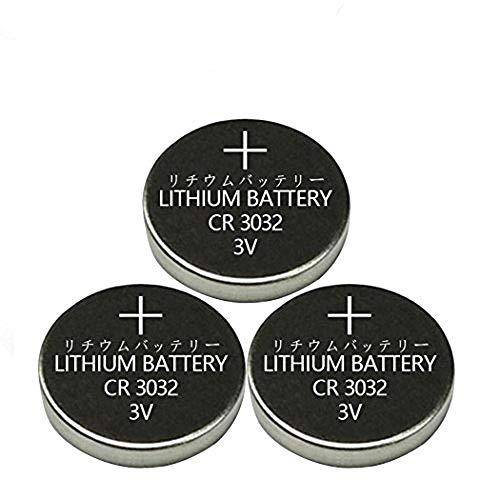 3 Pcs CR3032 3032 3V Button Cell Batteries for Remote Controllers keyless car remotes glucometer Tealight Vibes Lasers