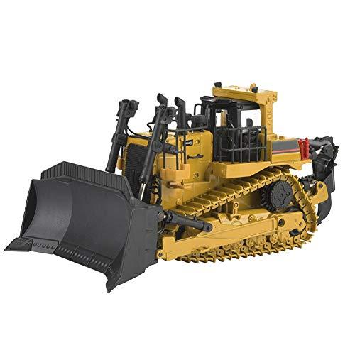 Qiterr 【𝐏𝐚𝐬𝐜𝐮𝐚】 Modelo de camión de Juguete, 1700 1: 50 Excavadora de Metal Modelo de ingeniería Construcción Coche Vehículo de Juguete