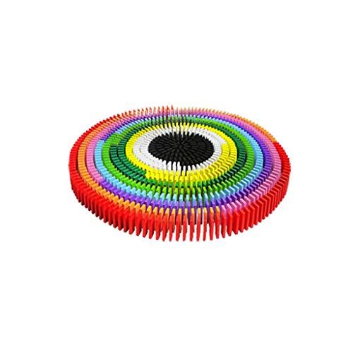 HXGL-jouets Organes Adultes pour Enfants en Bois de Dominos Multicolores de Plus de 3 Ans (Taille : S-500)