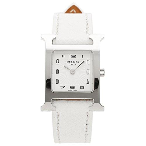[エルメス] 腕時計 HERMES 036700WW00 HH1.210.131/UBC Hウォッチ レディース シルバー ホワイト [並行輸入品]