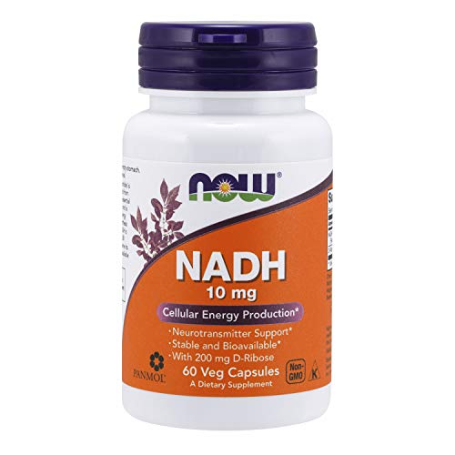 Now Foods NADH 10 mg, 200 g, 60 Unidades