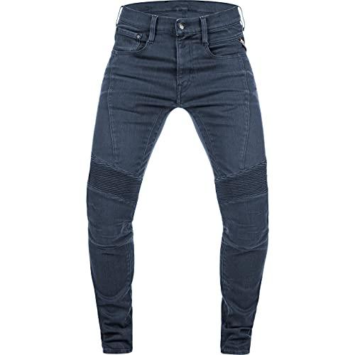Replay Motorrad Jeans Motorradhose Motorradjeans Fender Jeanshose blau 34/30, Herren, Chopper/Cruiser, Ganzjährig