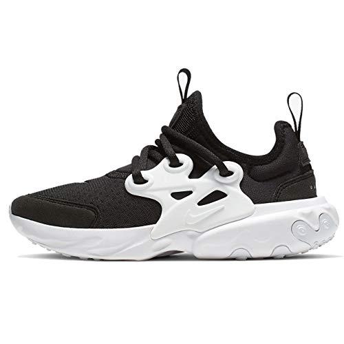 Nike Jungen Rt Presto (ps) Leichtathletikschuhe, Schwarz (Black/White 1), 34 EU