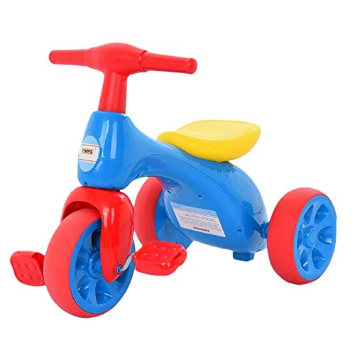Toddler Balance Bike for Kids Ages 2-4 Years, Lightweight Cartoon Bikes with Carry Handle Molded seat, Indoor Outdoor