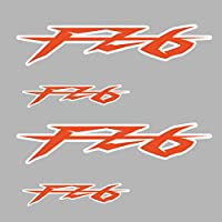 ヤマハFZ6 FZ6の場合、オートバイステッカーデカールリムホイールボディシェルフェアリングヘルメットタンクパッドFZ6モトフィルム