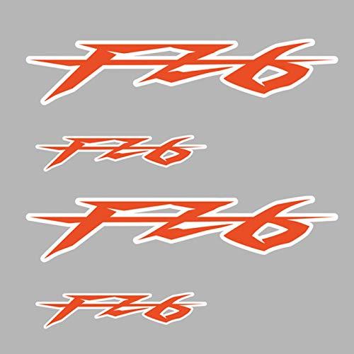 Qwjdsb para Yamaha FZ 6 FZ6, calcomanías Adhesivas para Motocicleta, Llantas, Ruedas, Carcasa para el Cuerpo, carenado, Casco, Almohadilla para Tanque, FZ6, película para Motocicleta