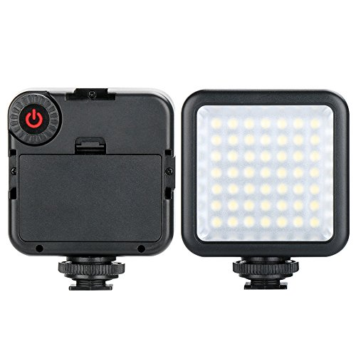 Docooler Mini LED Light Compatible with DSLR Camera for Photography