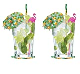 Invero Cocktail Set di boccali vintage in vetro Mojito Cocktail Glass Set