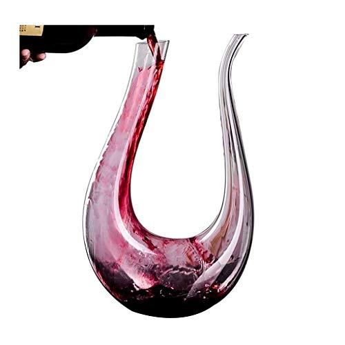 XSWZAQ Vaso de Cristal Vino Tinto Vino Resaca Conjunto Arpa vinoteca cubilete Separador de Vino (Size : 900ml)