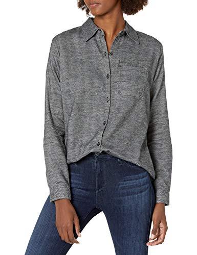 Dickies Damska koszula flanelowa w kratę z długim rękawem