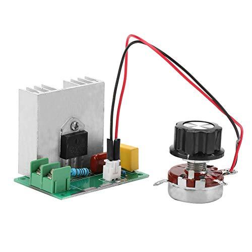 GOZAR 110V//220V 300W Ajustable Regulador Led Atenuador Interruptor Para L/ámpara De Bombilla De Luz Regulable