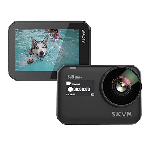 SJCAM SJ9 Strike Gyro/EIS Supersmooth 4K 60FPS WiFi Remote Action Camera Ambarella Chip Wireless Charging 10m Body Waterproof DV