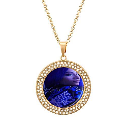 Sa-sha B-anks Collar de diamantes multicolor - Collar con colgante liviano, joyería de moda para niñas y niños