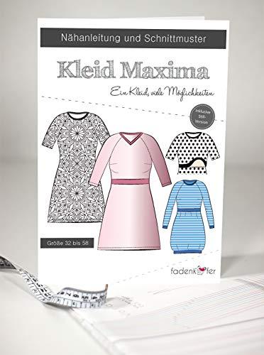 Schnittmuster und Nähanleitung - Damen Kleid - Maxima