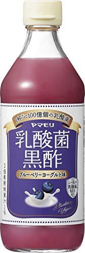 ヤマモリ 乳酸菌黒酢ブルーベリーヨーグルト味500ml