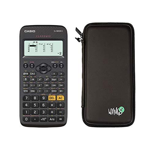 Casio FX-82DE X + Schutztasche + erweiterte Garantie