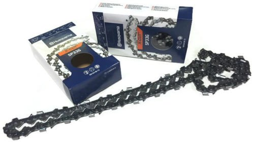 "2-Pack Genuine Husqvarna X-Cut 18"" Chain Loop 581643672 325 Pitch 50 Gauge Replaces H30-72 Fits 336 339XP 340 345 346XP 350 351 353 435 440"