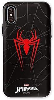 マーベル Marvel カード収納 iphone ケース spider man case iphone7 plus iphone8 plus iphone 7 8 plus iphone7+ iphone8+ あいふぉん7 あいふぉん8 マーベルケース アイアンマン スパイダーマン キャプテンアメリカ Marvel spider man mirror card case (iphone 7 plus / 8 plus, スパイダー)