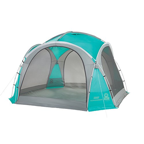 Coleman Mountain View Screendome Shelter, Center Height 7 ft 6 in, Teal/Gray, 12 ft x 2000024748