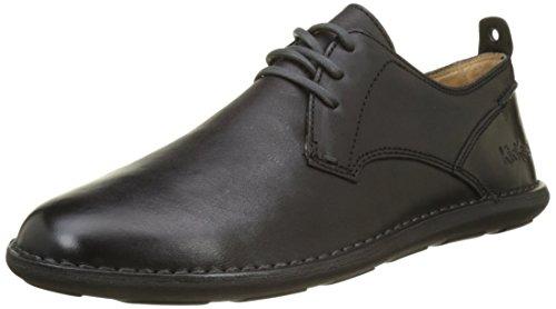 Kickers SWIDIRA, Zapatos de Cordones Derby Hombre, Negro 8, 40 EU
