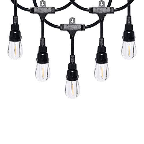 Honeywell 24' Commercial-Grade LED Indoor/Outdoor Café String Lights