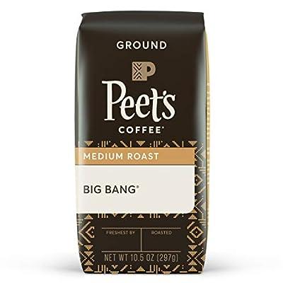 Peet's Coffee Big Bang, Medium Roast Ground Coffee, 10.5 oz
