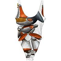 競泳 女性のためのストラップレスビキニトップ 用 水着 レディス 肌触り良い水着 女性用ラージバスト スイムウェア UVカット率 0.987 大きいサイズL/XL/2XL/3XL レディースハイウエスト水着 生意気な女性のために