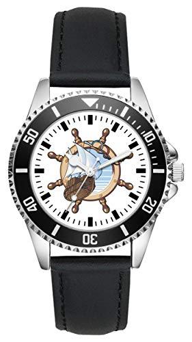 Geschenk für Seemann Fahrer Segler Uhr L-2189