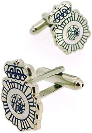 Gemelolandia | Gemelos para Camisa. Gemelos con temática de la Policía Nacional, Varios Modelos Gemelos Originales pa...