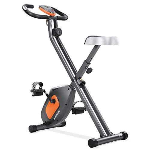 MaxKare Exercise Bike Stationary Folding Magnetic Exercise Bike Machine