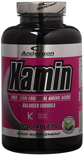 Anderson Research Xamin IAF00063896 Integratore, Aminoacidi Essenziali, 200 Compresse