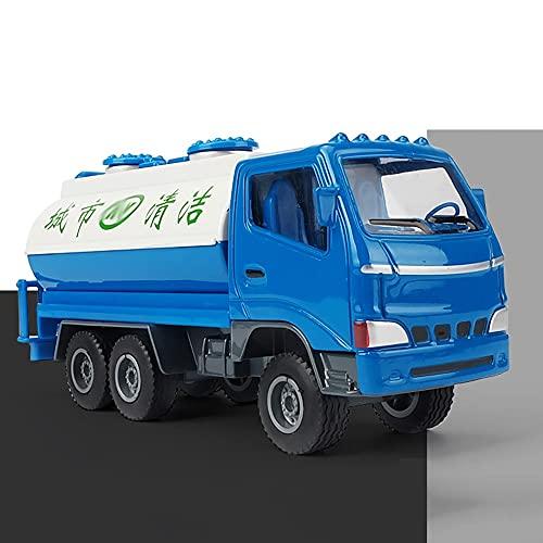 Xolye Legierung Sprinkler Modell Metall Spielzeug Auto Sammlung Ornamente for Jungen Trägheit Vorwärts Technik Fahrzeug Stadt Reinigung Auto Spielzeug