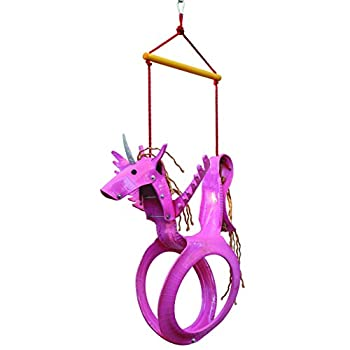 tire swing horses